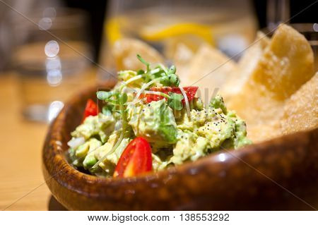 Avocado And Shrimps Salad