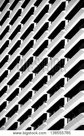 Urban  construction, architecture details and fragment in black and white, architecture abstract in B&W, urban creatives, architectural details, exterior fragment