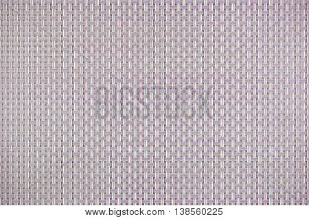 Pattern of colour plastic weave texture background