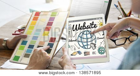 Website WWW Online Technology Global Concept