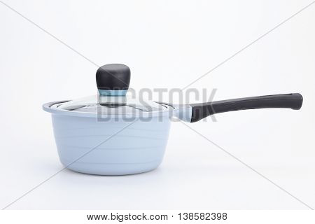 pan. Set of cook pan on white background