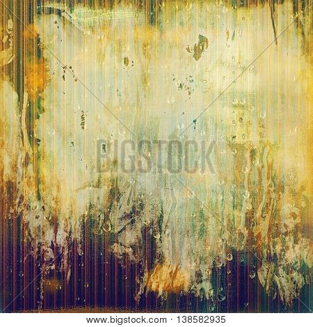 Grunge background for your design, aged shabby texture with different color patterns: yellow (beige); brown; green; cyan; purple (violet); white