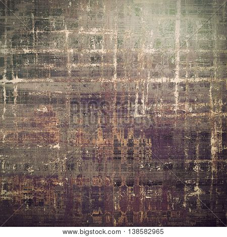 Grunge old texture used as abstract vintage style background. With different color patterns: yellow (beige); brown; gray; purple (violet); pink