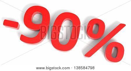 Discount 90 Percent Off Sale.