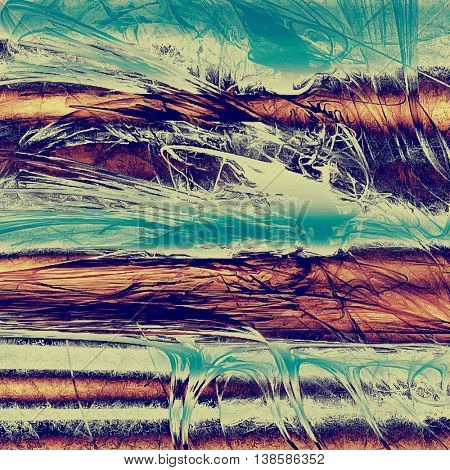 Art grunge background, vintage style textured frame. With different color patterns: yellow (beige); brown; gray; blue; cyan; purple (violet)