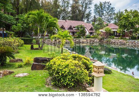Klong Prao Resort. Cottages On The Bay In A Tropical Garden