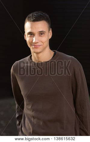 Young Man In 20S Smiling Portrait