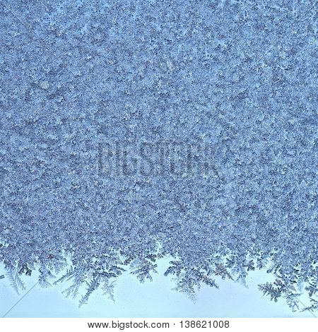 Cold Frost Background