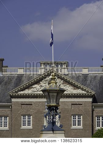 The Castle fo het loo in the netherlands