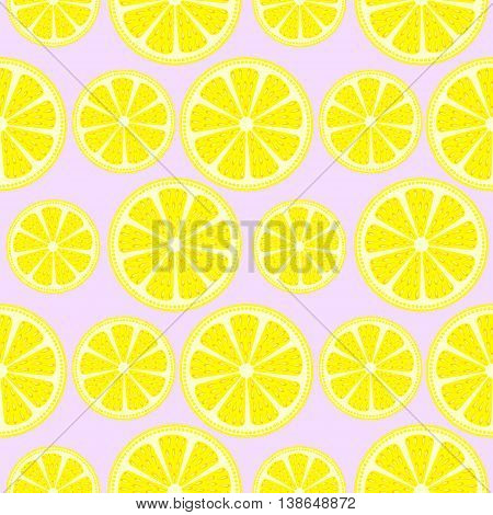 Seamless Vector Pattern With Fruits