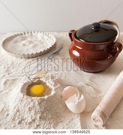 Dough Composition For Pies