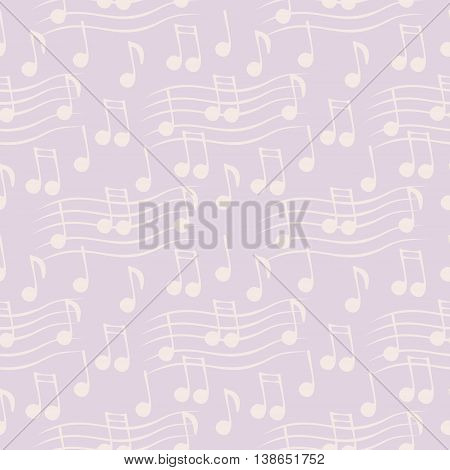 Seamless Vector Music Pattern