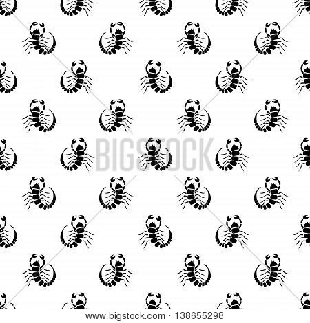 Seamless Vector Pattern With Insect