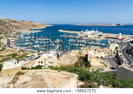 The first impression one gets of the Mgarr Harbour today is one of bustling activity