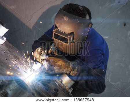 Welding Machine Structure By Electric Welding