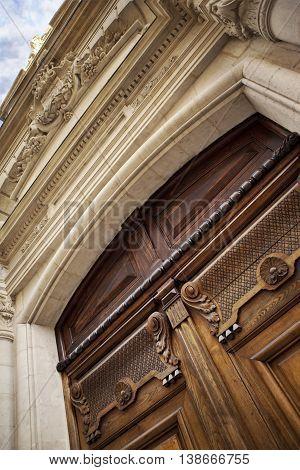 Door Of A Mansion