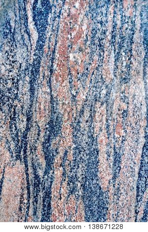 Texture of natural treated black and brown granite