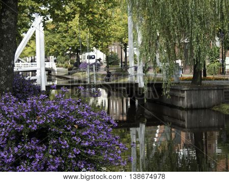 Papenburg, a nice City at the river ems