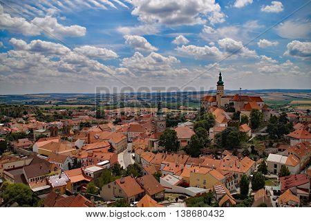 Historical castle in the czech republic - Mikulov