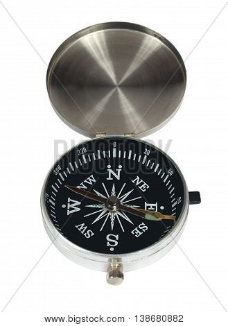 Compass. Simple modern. Isolation on a white background