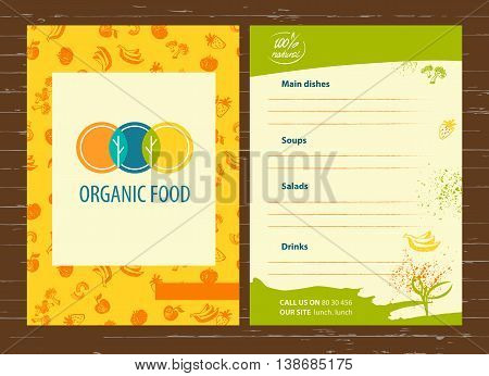 Vector Template Logo For Agriculture, Horticulture. Image Of Thr