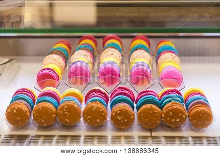 Traditional French Dessert The Colorful Macaroons