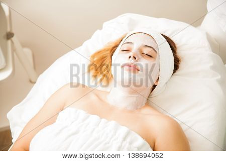 Moisturizing Face Treatment At A Spa
