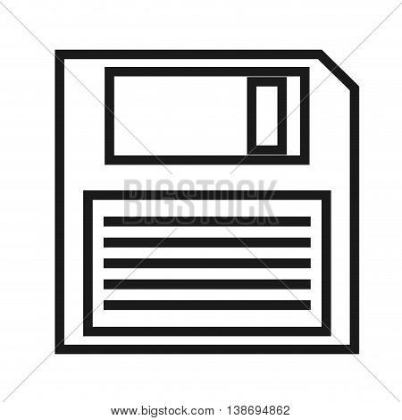 storage disk icon data disc illustration vector