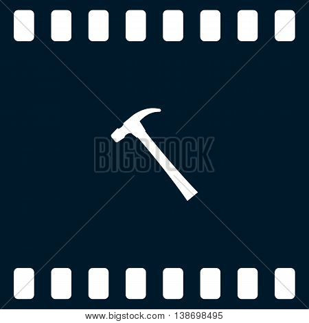 Hammer Flat Style Vector Icon