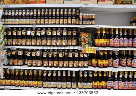 Cooking Source Sold In Big C Supermarket In Bangkok