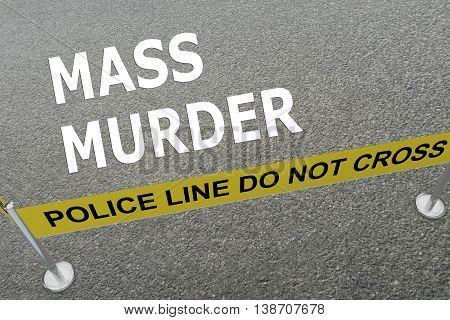 Mass Murder Concept