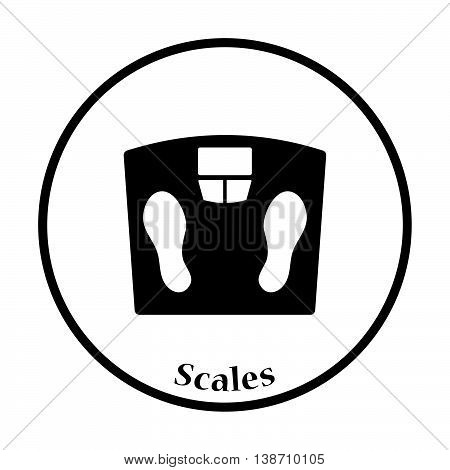 Icon Floor Scales Of