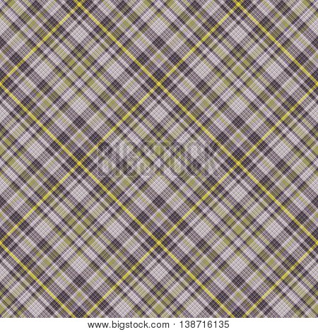 Checkered seamless pattern of interwoven multicolored thin strips. Motley abstract symmetrical pattern. Tartan template for fabrics, wallpaper. Vector eps10