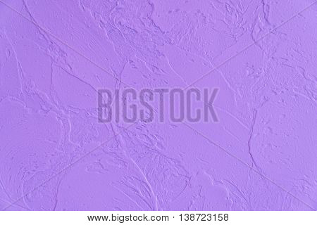 Abstract purple plaster wall texture. Background and texture.