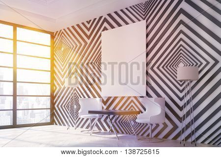 Modern Interior With Sunlight