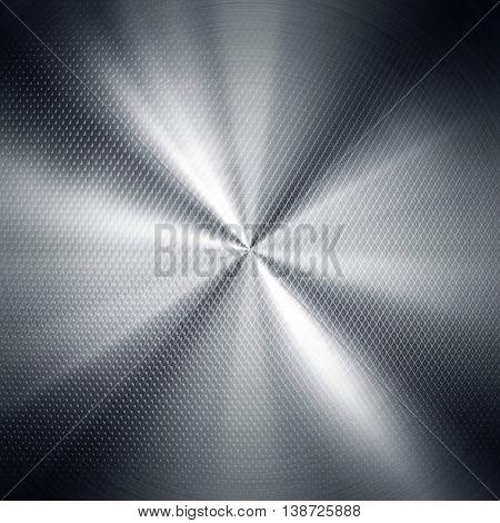 polished metal mesh background