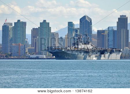 The USS Boxer (LHD 4)