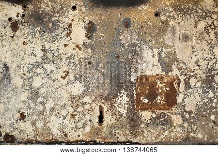 rust metal wall grunge texture old and dirt background material