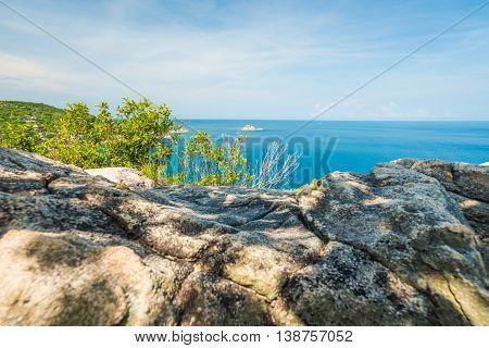 John Suwan Highest Viewpoint To See Mountain And Sea Shore