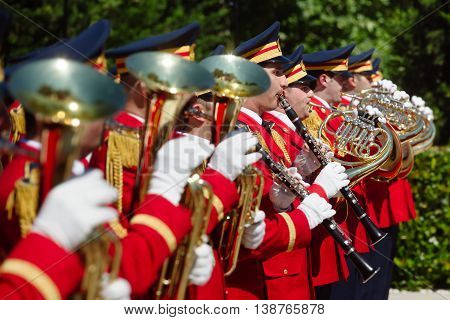 Guard Of Honor In Baku