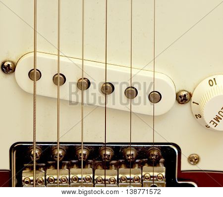 icture of an Electric guitar details music theme