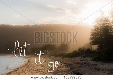 Let It Go Message