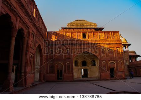 Agra, India. Agra Fort.