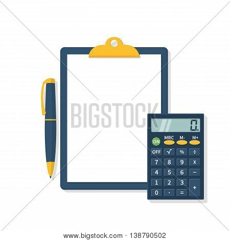 Calculation Concept, Vector