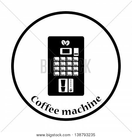 Coffee Selling Machine Icon
