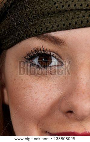 Beautiful Womans Eye