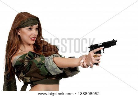 Woman Soldier