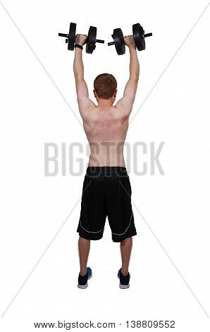 Man Lifting Weight