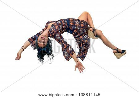 Beautiful Floating Woman