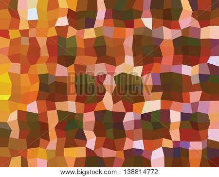 Multicolored quadrilaterals illustration. Quadrilaterals design. Quadrilaterals mosaic.